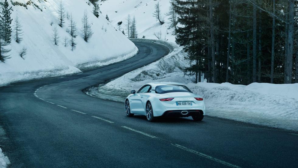 Alpine A110 Pure (trasera)