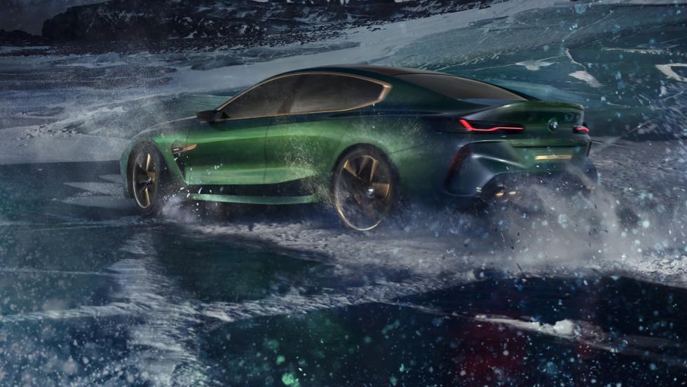BMW M8 Gran Coupé Concept (lateral)