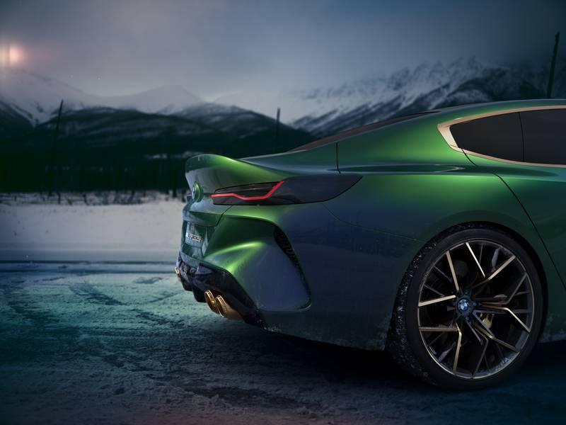 BMW Serie 8 Gran Coupé Concept 2019