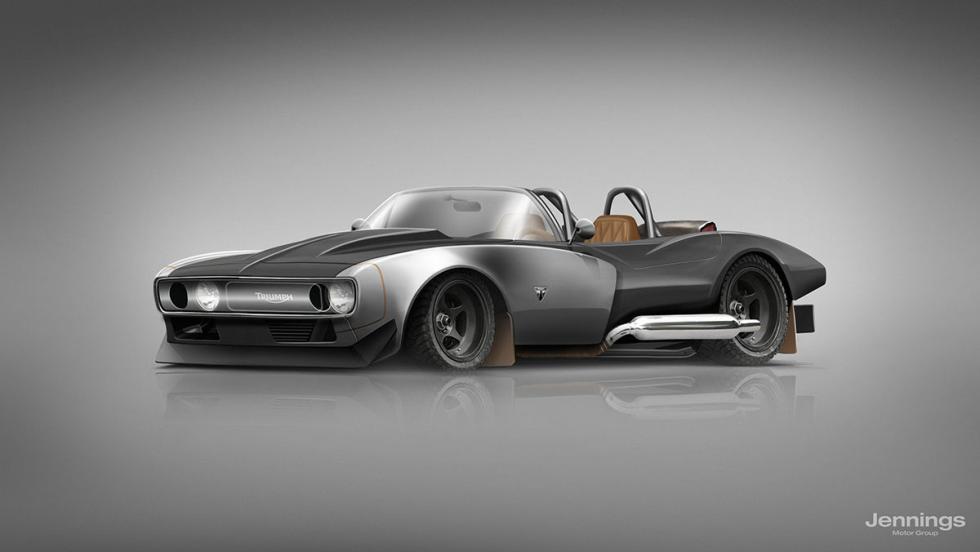 El coche de Triumph