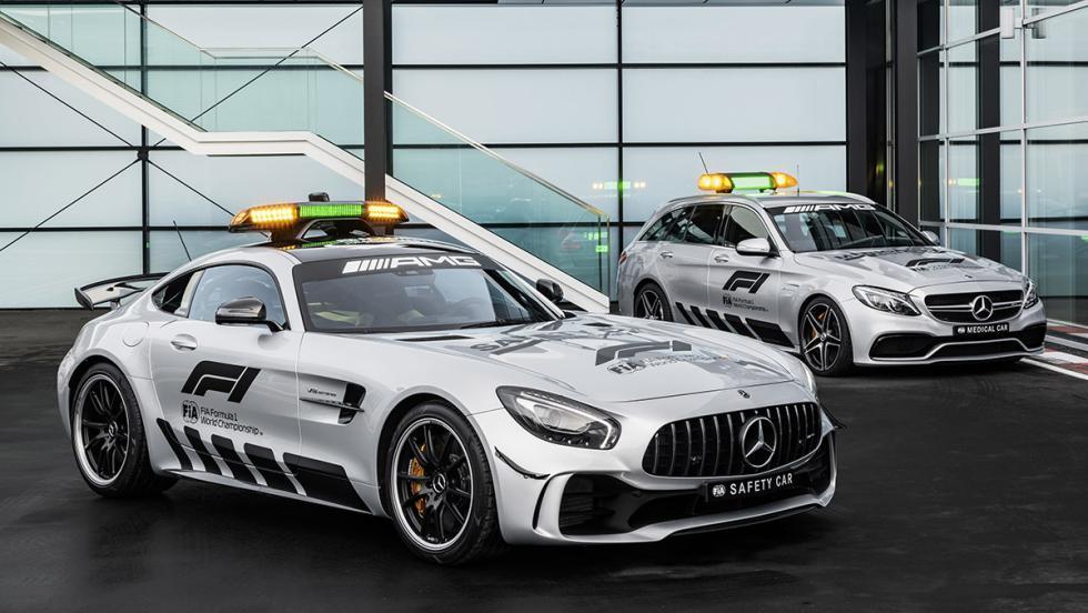 GT R y C63 S Estate: los AMG de la Fórmula 1