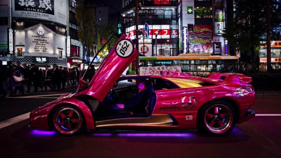 Lamborghini Diablo rosa Morohoshi