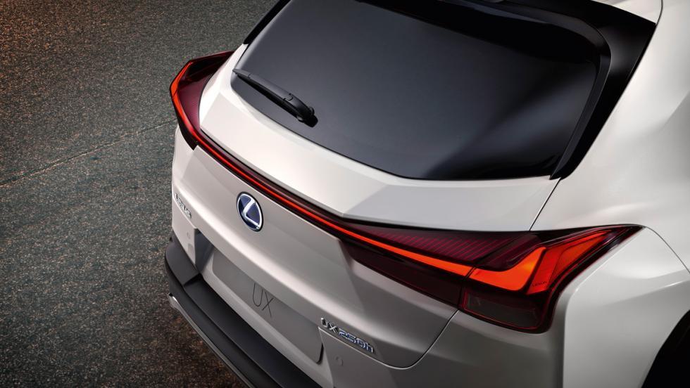 Lexus UX F Sport (detalle)