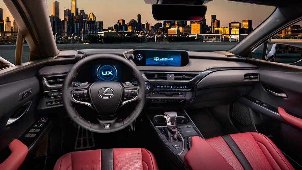 nuevo lexus ux el primer crossover compacto de lexus ya est aqu. Black Bedroom Furniture Sets. Home Design Ideas