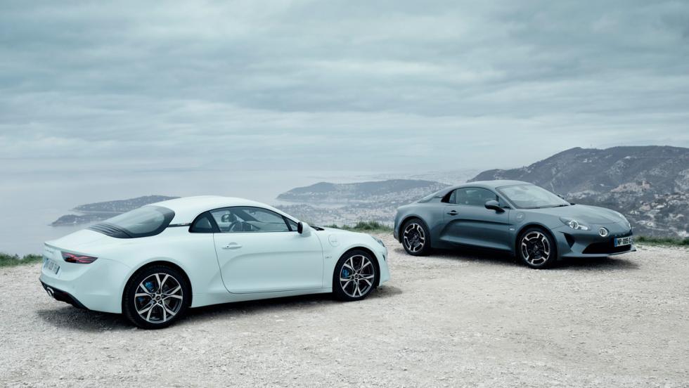 Nuevas versiones Alpine A110: Alpine A110 Pure y Alpine A110 Légende (lateral)