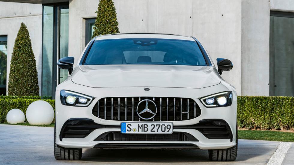 La superberlina de Mercedes