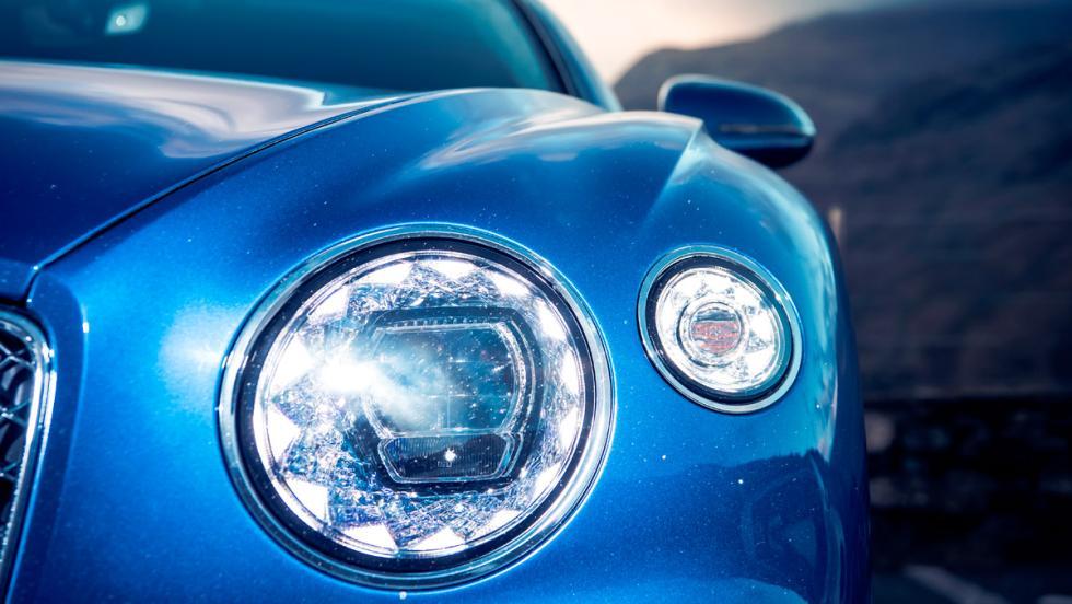 Prueba Bentley Continental GT (faro)