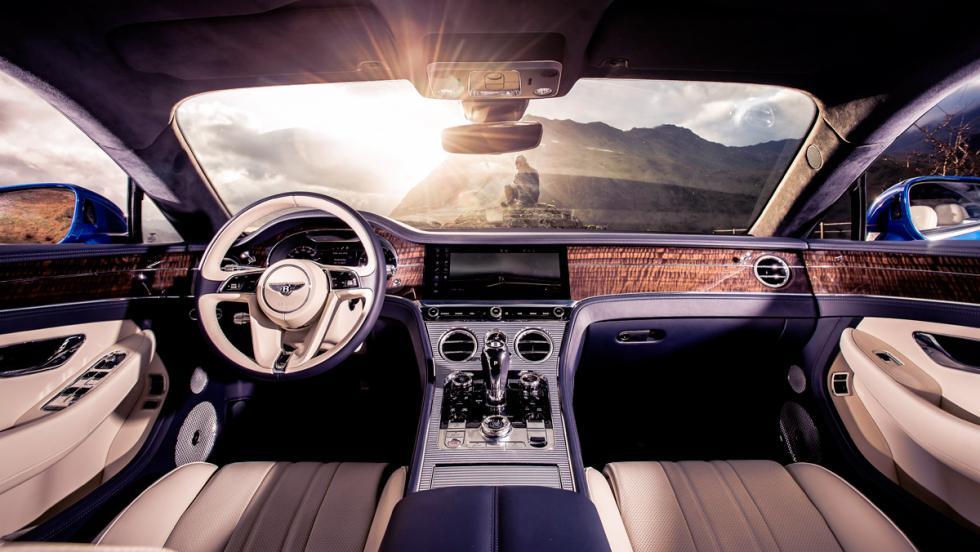 Prueba Bentley Continental GT (interior)