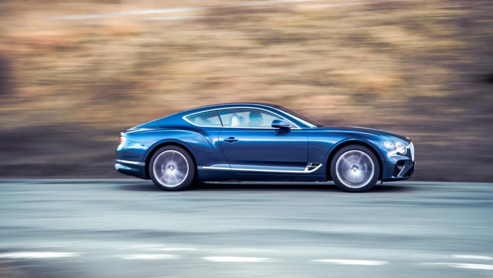 Prueba Bentley Continental GT (lateral)