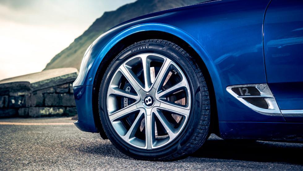 Prueba Bentley Continental GT (rueda)