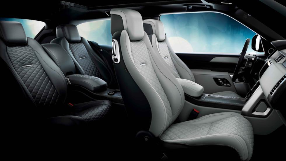 Range Rover SV Coupé (interior)