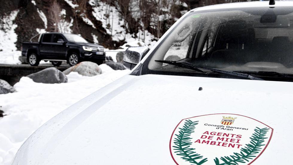 Volkswagen Amarok (agentes forestales Valle de Arán)