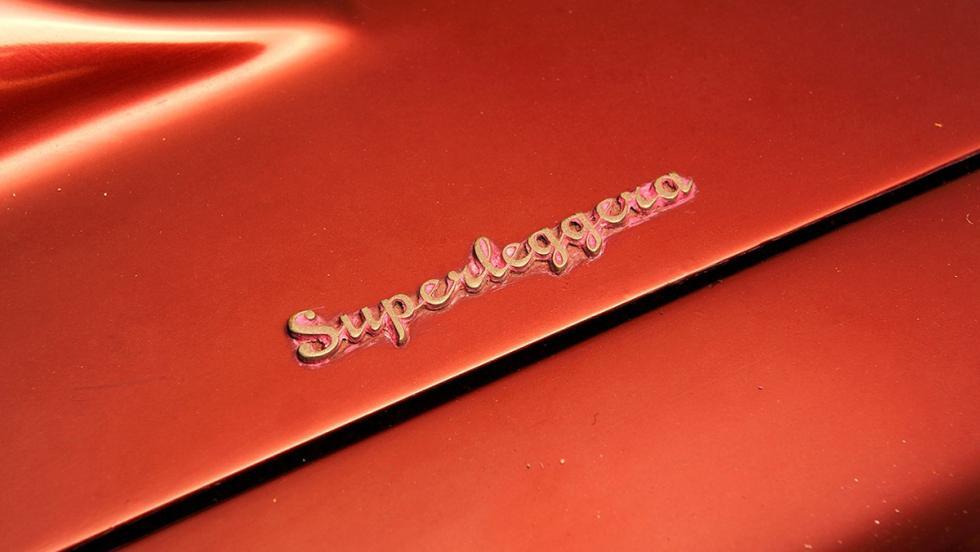 Aston Martin DBS Superleggera firmado por Touring en 1967