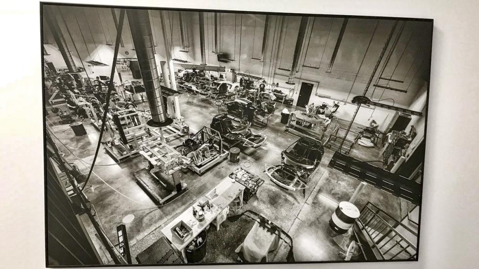 Fábrica Ford GT (cuadro planta 2)
