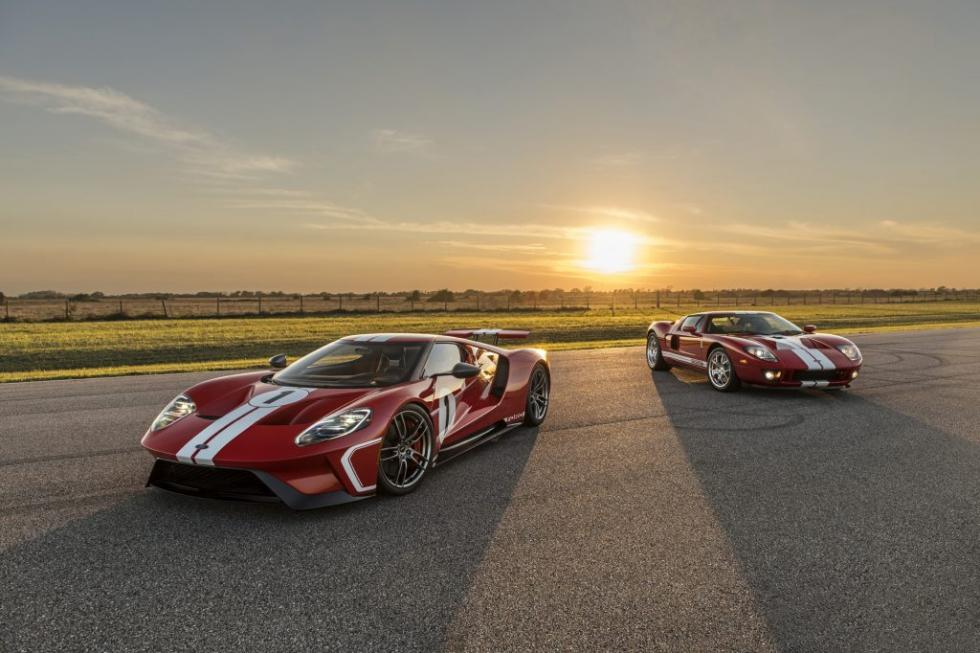 Ford GT Heritage Edition 2017