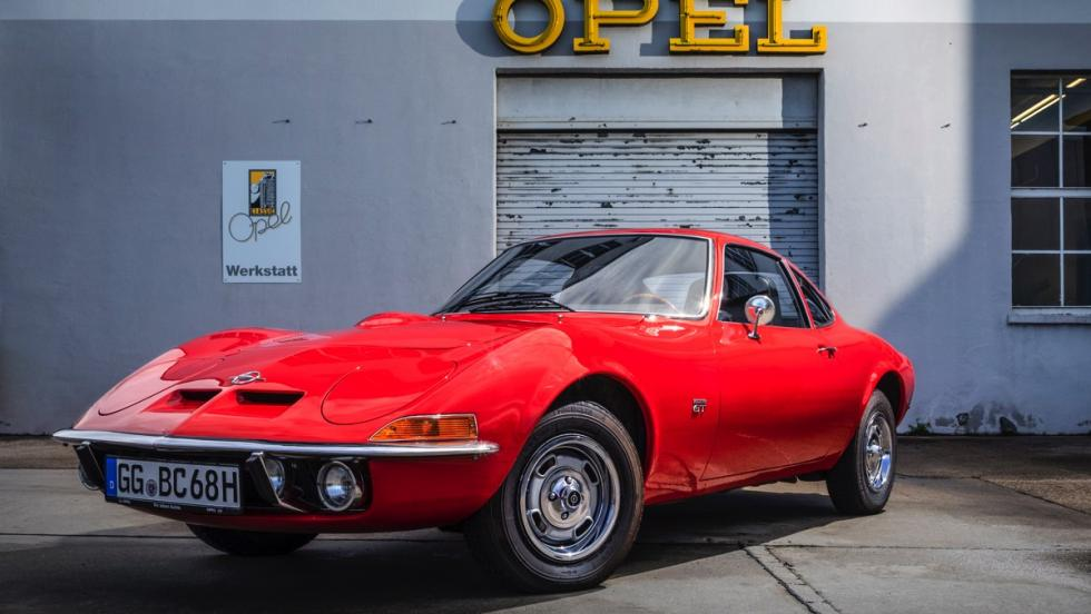La historia del Opel GT