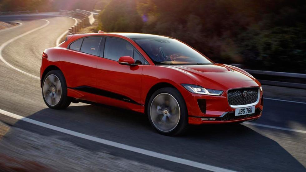 Jaguar I-Pace: 0-100 km/h en 4,8 s.