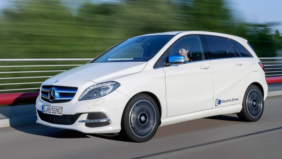 Mercedes B250e: 0-100 km/h en 7,9 s.