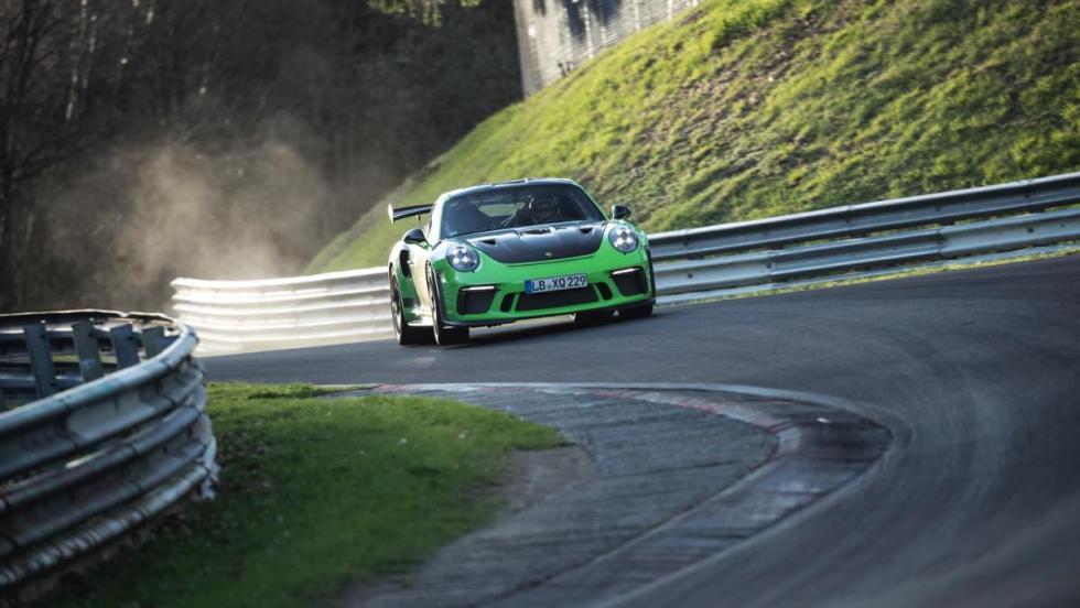 Porsche 911 GT3 RS, récord Nürburgring