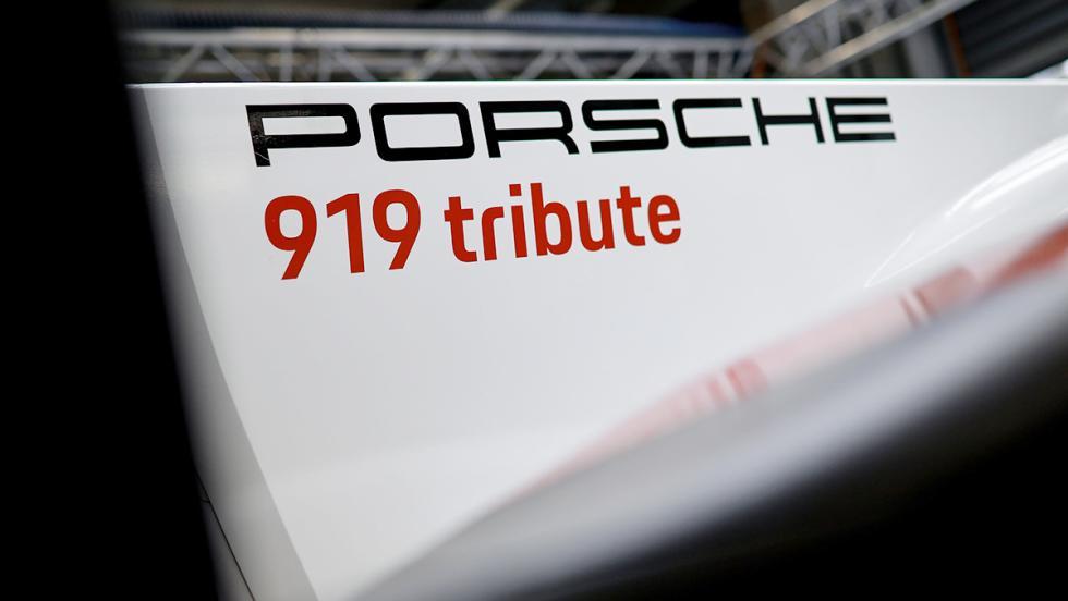 El Porsche 919 Hybrid del récord en Spa