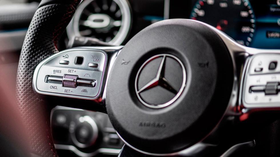 Los controles, desde el volante