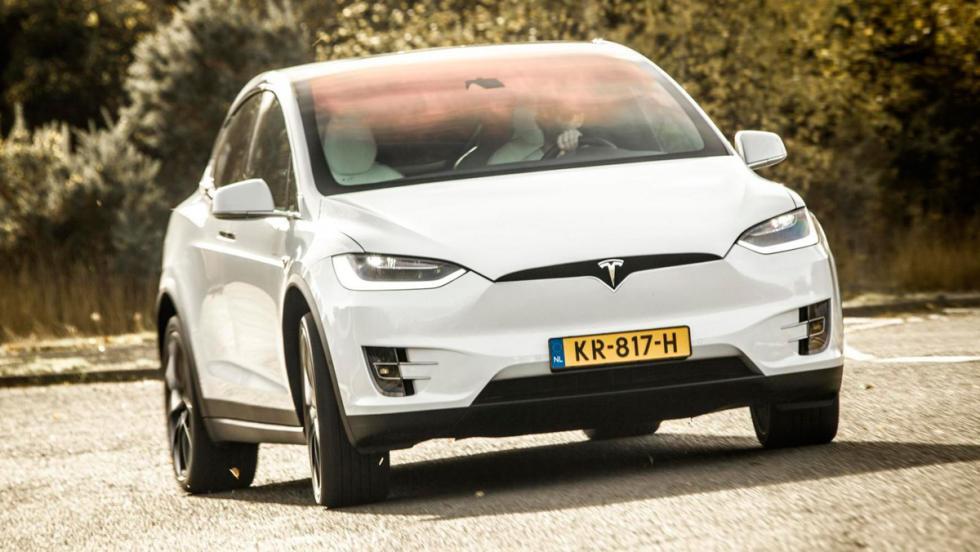 Tesla Model X P100D: 0-100 km/h en 2,9 s.
