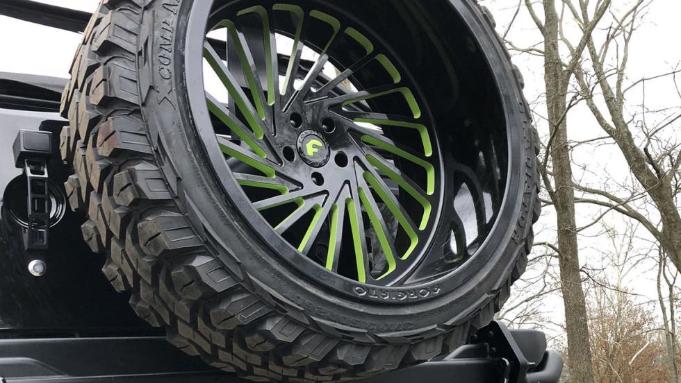Jeep Wrangler 'Call of Duty'