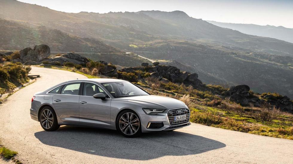 lujo sedan deportivo cuero elegante oporto interior tecnologia
