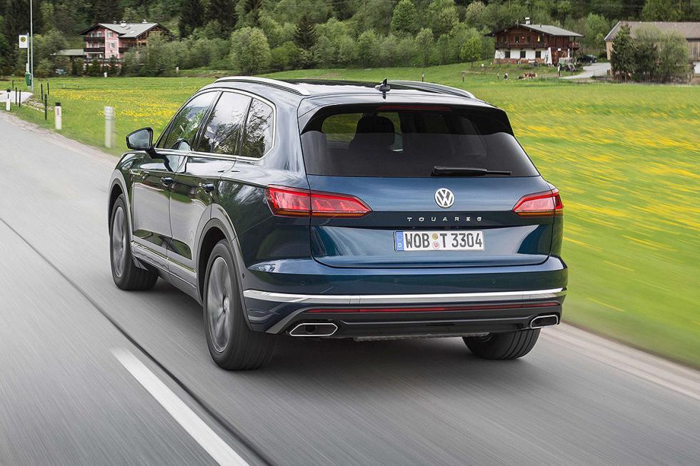 Prueba del Volkswagen Touareg 2018.