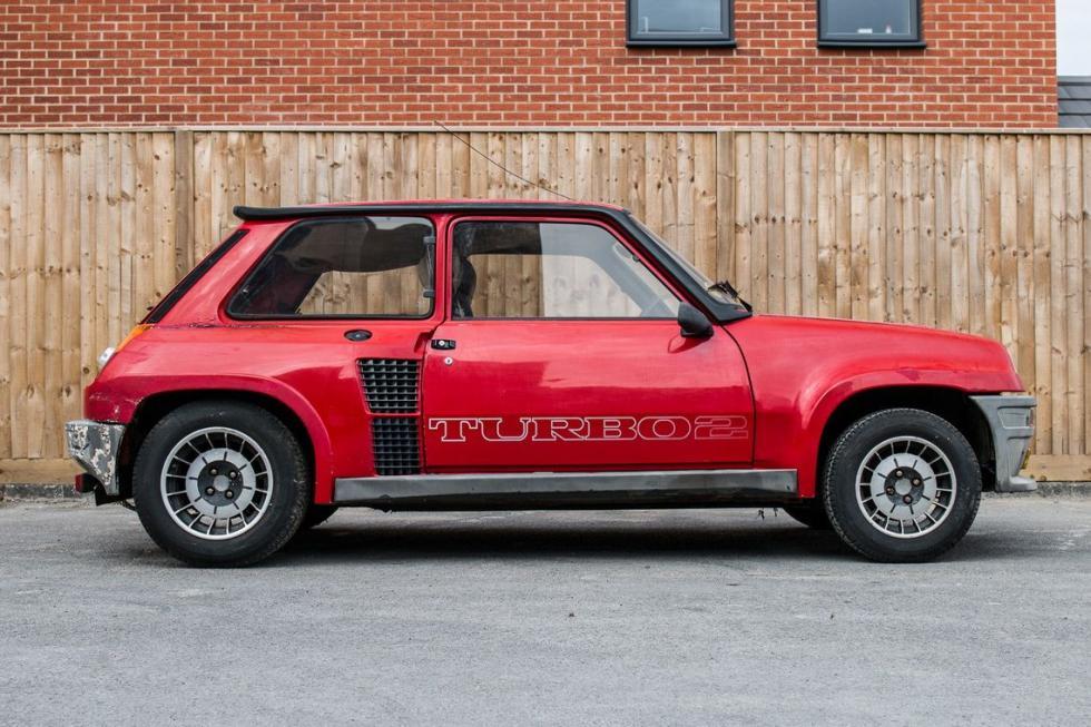 Renault 5 RS Turbo 2 a subasta