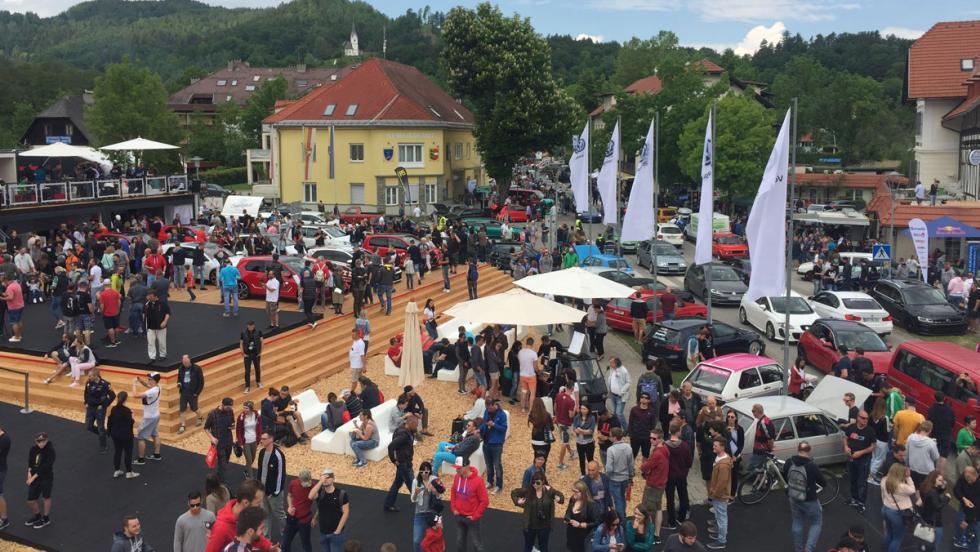 2. Wörthersee 2018: sitio espectacular y miles de aficionados
