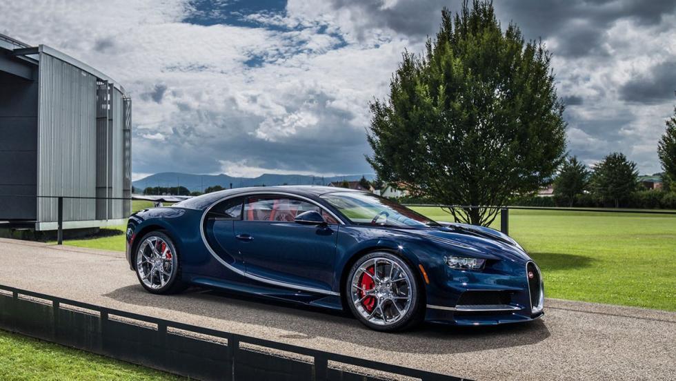 Los coches de Cristiano Ronaldo - Bugatti Chiron