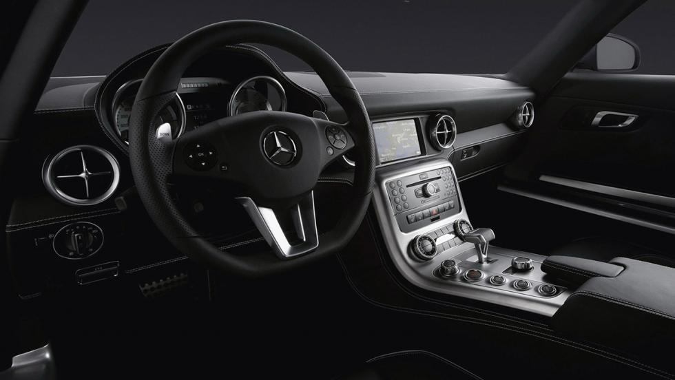 Los coches de Cristiano Ronaldo - Mercedes SLS AMG