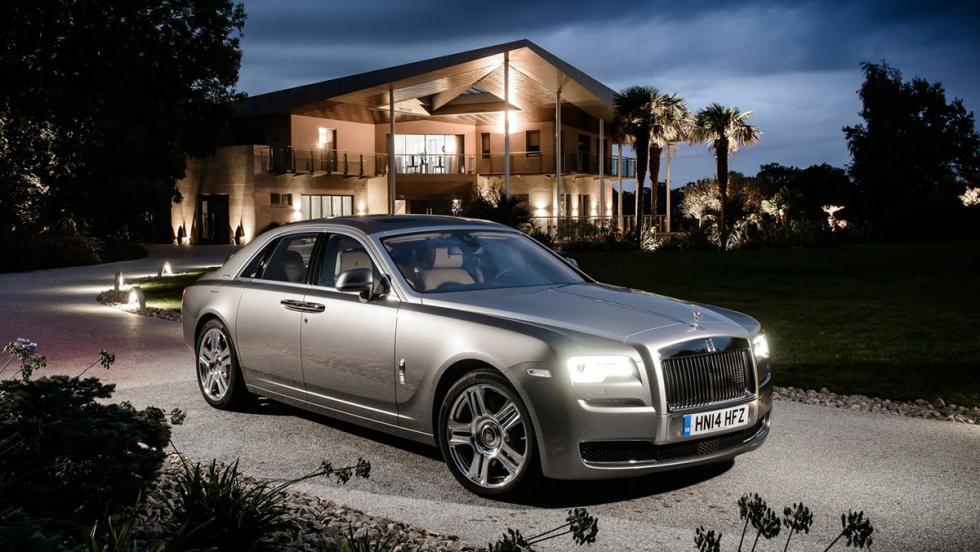 Los coches de Cristiano Ronaldo - Rolls-Royce Ghost