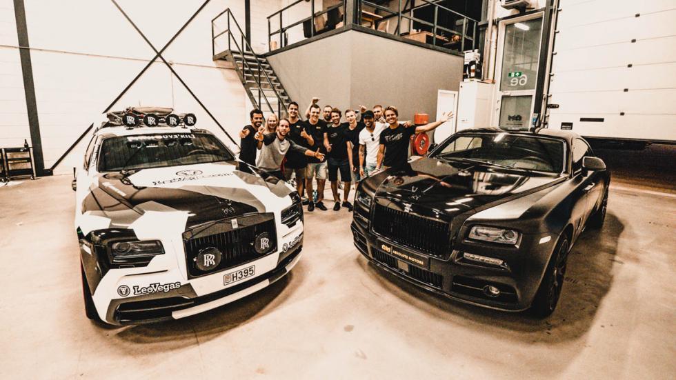Jon Olsson vende su Rolls-Royce Wraith