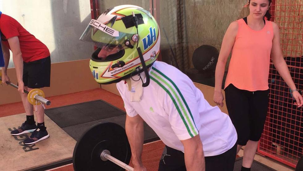 Preparación piloto Porsche 24 Horas de Le Mans