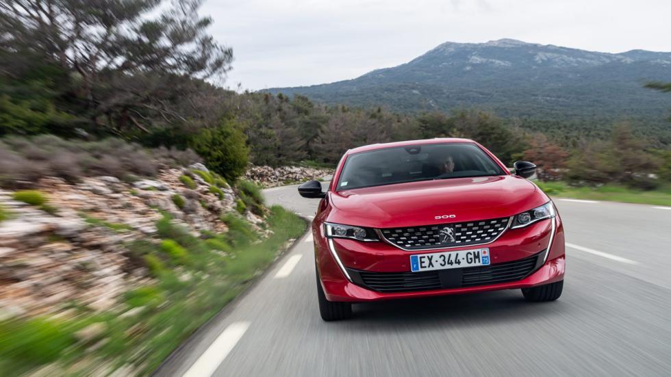 Prueba Peugeot508 2018