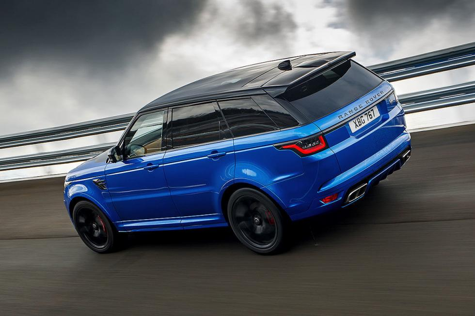 Prueba: Range Rover Sport SVR.