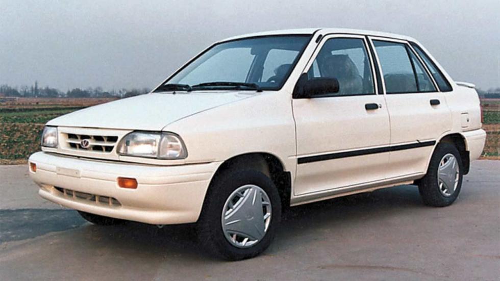 Pride Ario coches iran compacto barato