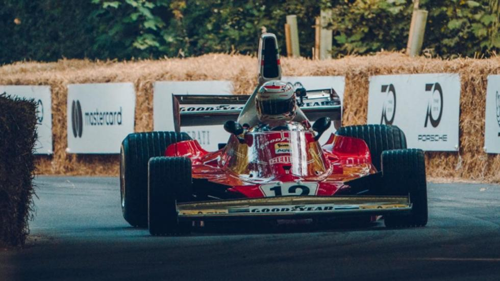 Los coches de Goodwood  Ferrari 312B3 Niki Lauda