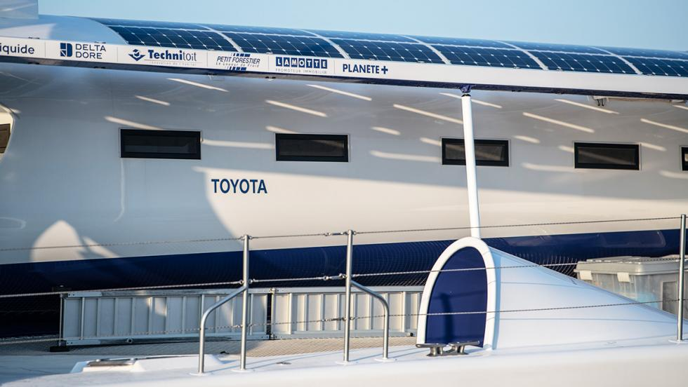 Energy Observer: el barco de Toyota propulsado por hidrógeno