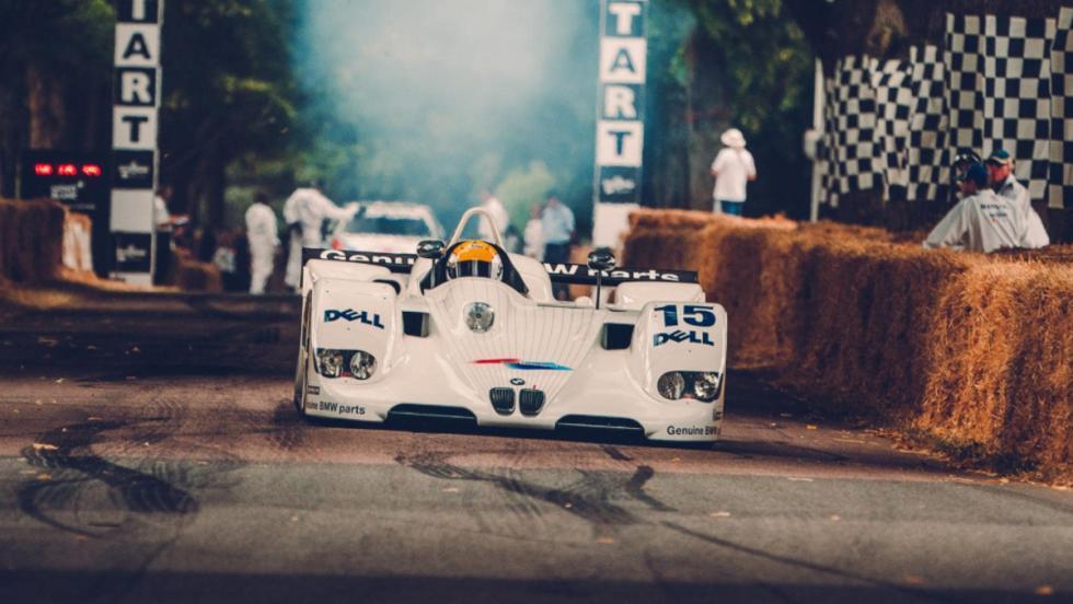 Los mejores coches de Goodwood 2018 BMW V12 LMR