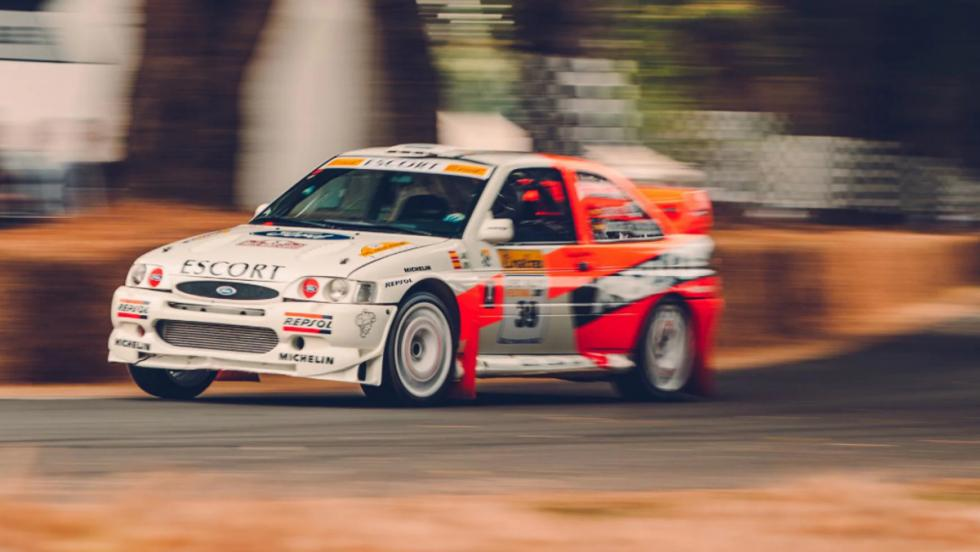 Los mejores coches de Goodwood 2018 Ford Scort Cosworth