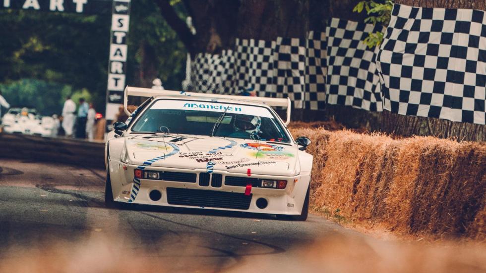 Los mejores coches de Goodwood BMW M1