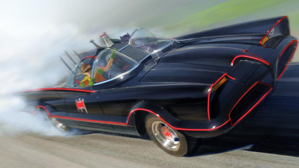 Los mejores coches de la televisión - Batmóvil