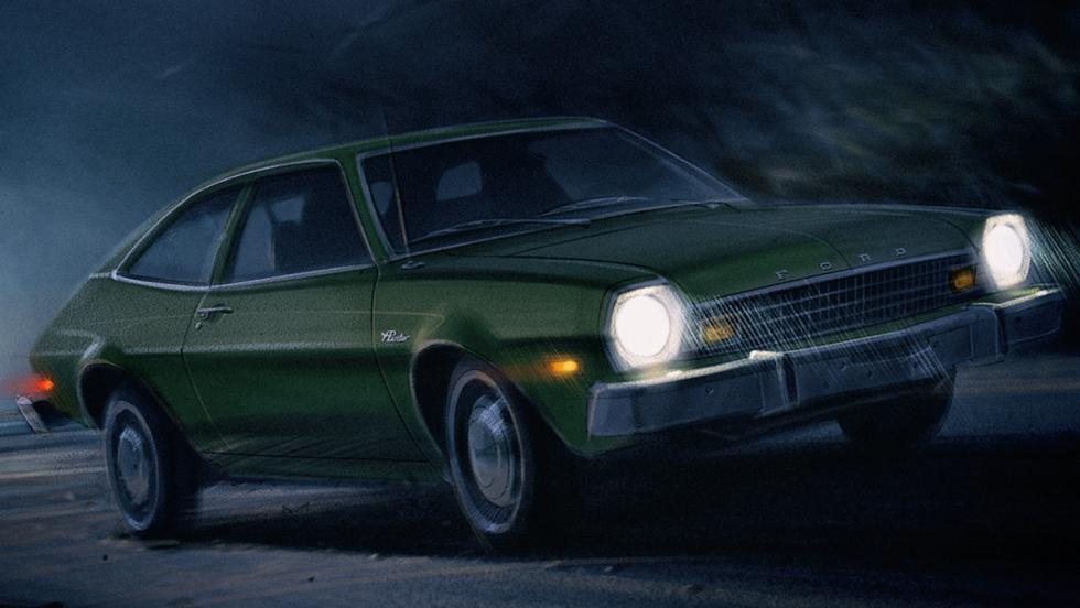 Los mejores coches de la televisión - Ford Pinto de 'Stranger things'