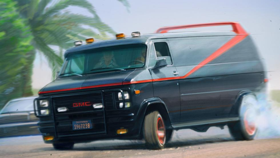 Los mejores coches de la televisión - GMC de 'El Equipo A'