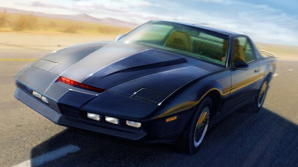 Los mejores coches de la televisión - Pontiac Trans-Am de 'El coche fantástico'