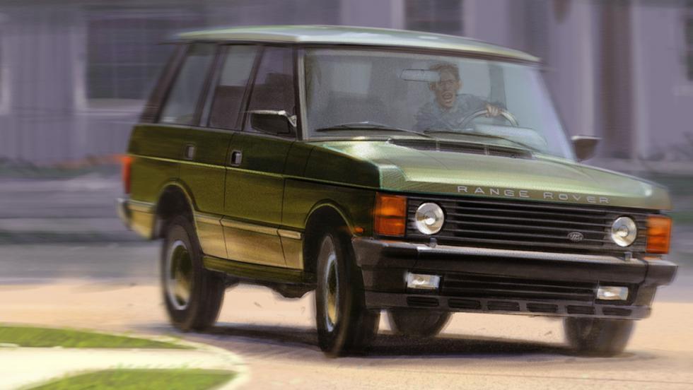 Los mejores coches de la televisión - Range Rover de 'It´s always sunny in Philadelphia'