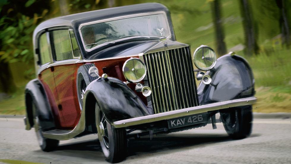 Los mejores coches de la televisión - Rolls-Royce Phantom III de 'The Crown'